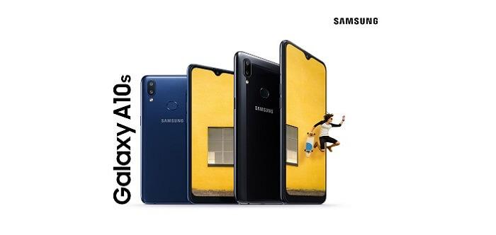 گوشی موبایل گلکسی آ 10 اس سامسونگ با ظرفیت 32 گیگابایت