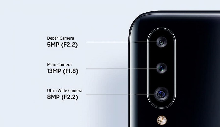 بررسی دوربین گوشی گلکسی A20s