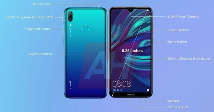 Y7 Prime Huawei 32gb