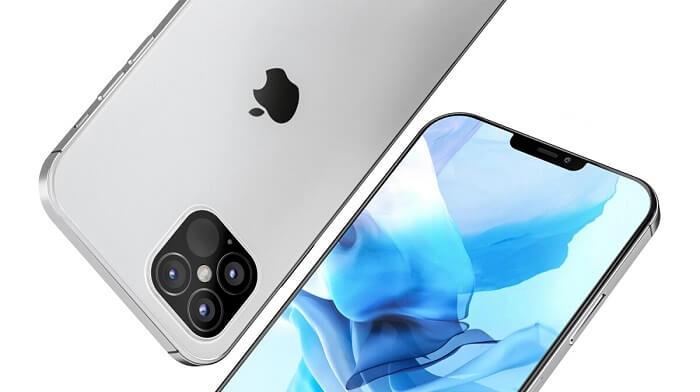 گوشی موبایل iphone 12 پرو مکس -نقره ای