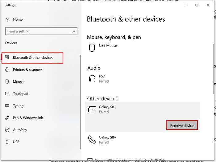 رفع مشکل وصل نشدن دستگاه به بلوتوث لپ تاپ