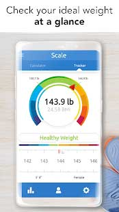 اپلیکیشن ideal weight