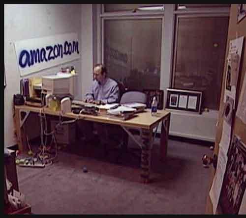 اولین دفتر آمازون