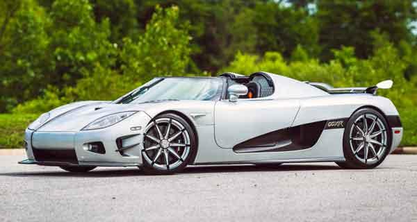 گران ترین خودرو دنیا