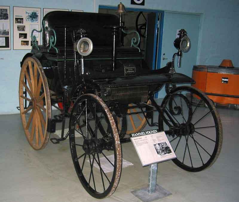 خودرو Hammelvognen