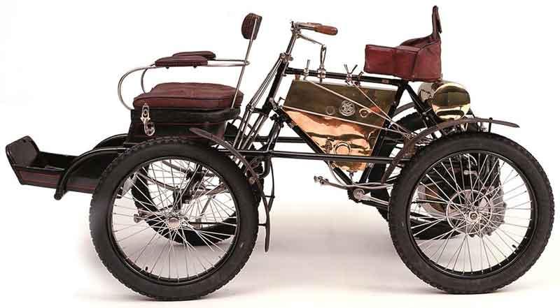خودرو De Dion-Bouton Quadricycle