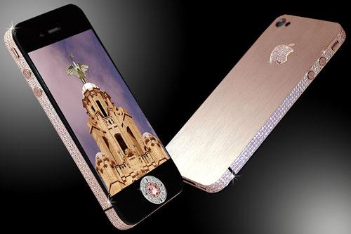 گوشی STUART HUGHES IPHONE 4 DIAMOND ROSE