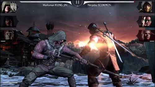 بازی mortal kombat x موبایل