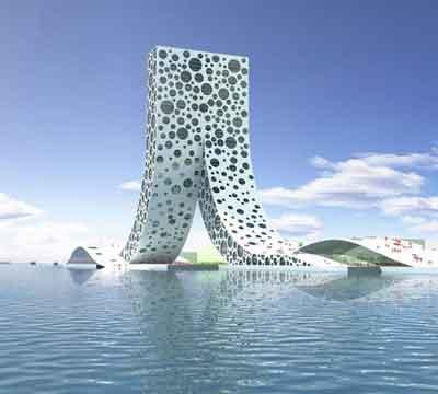 ساختمان Ren چین
