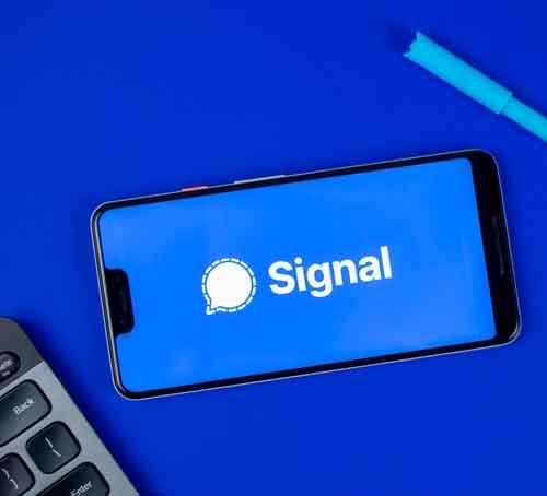 اپلیکیشن سیگنال اپ