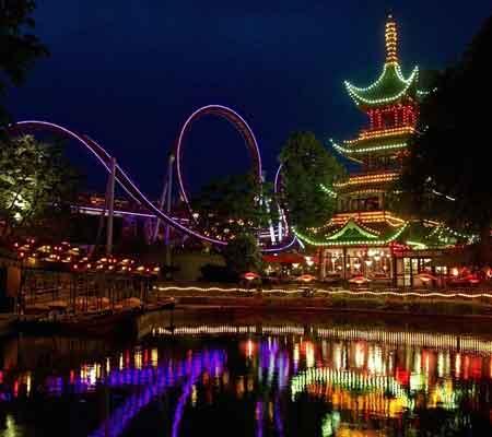 شهربازی Tivoli gardens