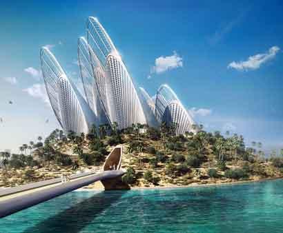 برج wingshape امارات