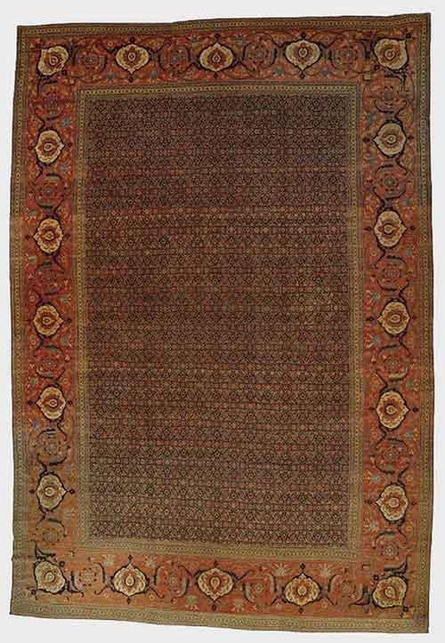 فرش 65 هزار دلاری تبریز
