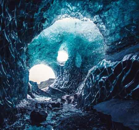 غار Vatnajökull Glacier