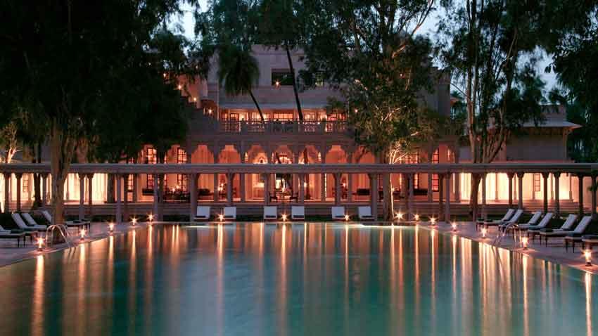 هتل AMANBAGH