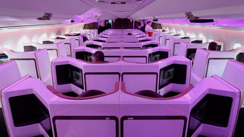 New York to Singapore, Virgin Atlantic Upper Class