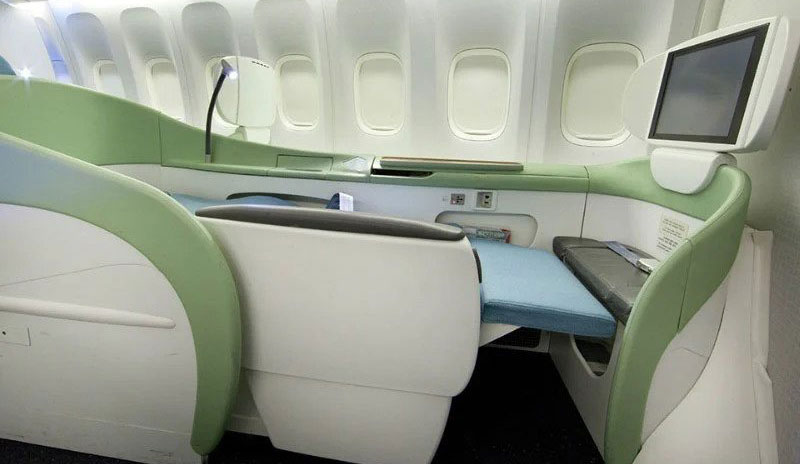 New York to Beijing with Korean Air
