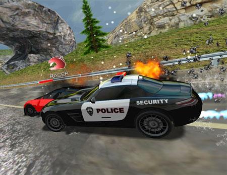 بازی Racers Vs Cops