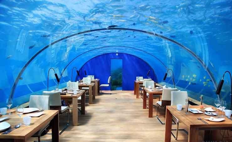 رستوران Ithaa Undersea