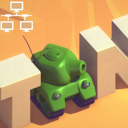بازی tank battle wifi