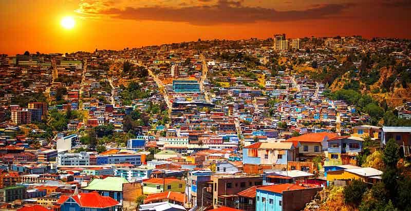 شهر Valparaiso